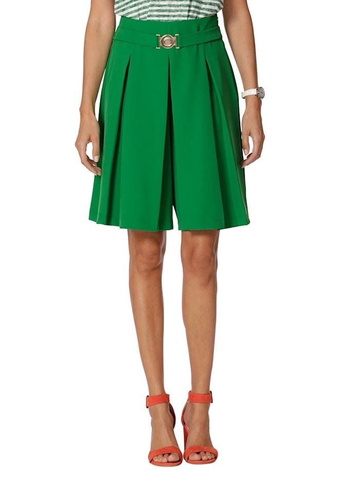 AMY VERMONT Short d'aspect jupe, Vert