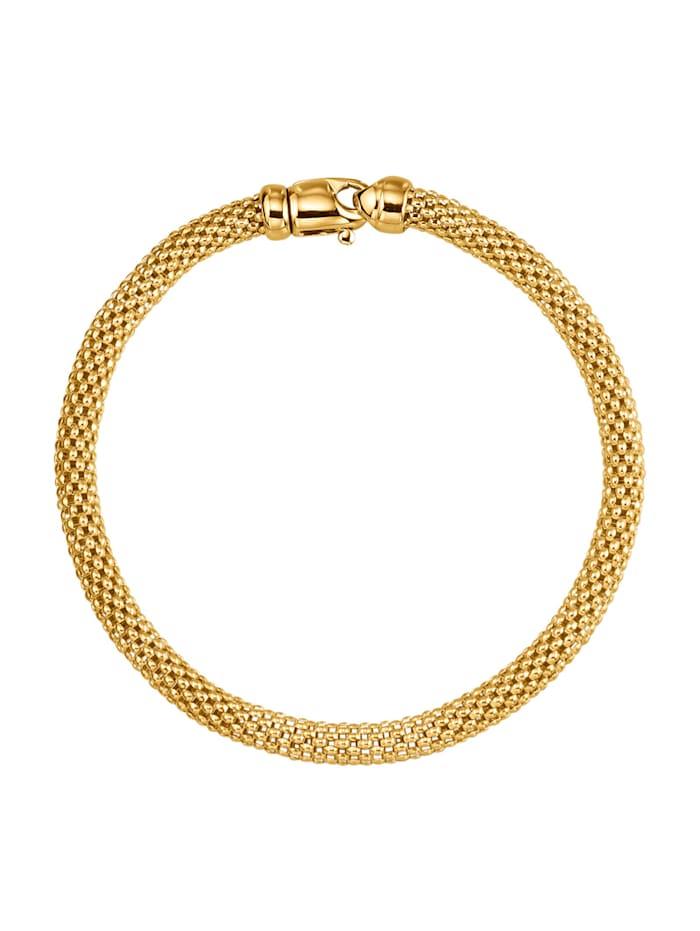 Diemer Gold Armbånd i gull 585, Gullfarget