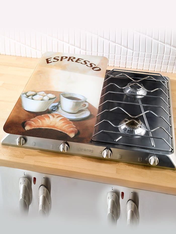 Wenko Set van 2 afdekplatenEspresso/Cappuccino, espresso/cappuccino