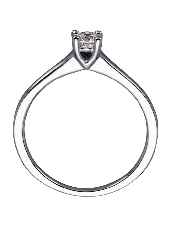 Solitär-Ring mit Brillant