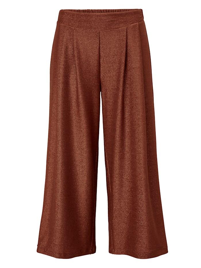 REKEN MAAR Pantalon, Rouille