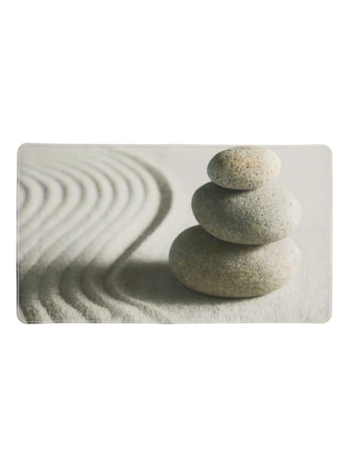 Wenko Wanneneinlage Sand and Stone, 70 x 40 cm, Mehrfarbig