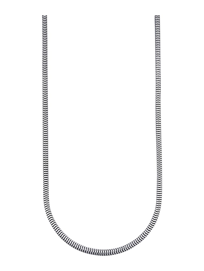 Slangenkettting van echt zilver, Zilverkleur