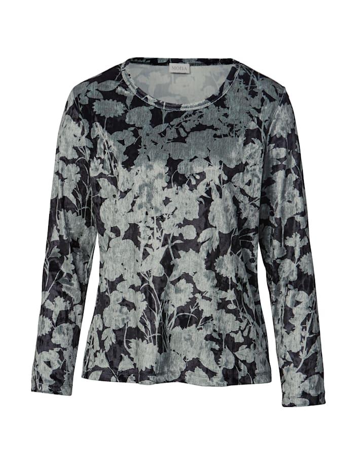 Shirt aus feiner Samt-Qualität