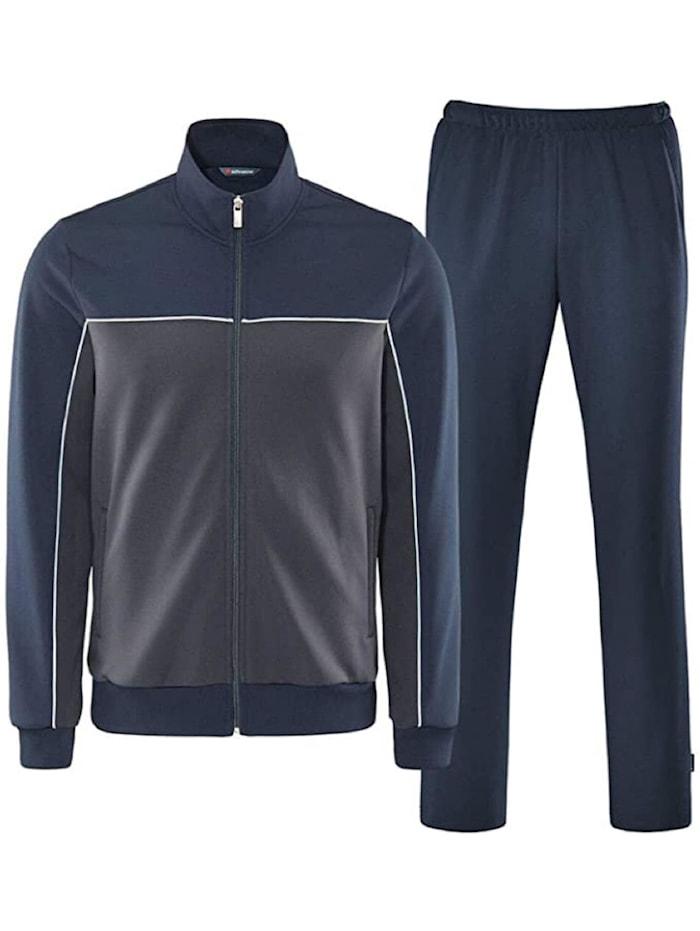 Schneider Sportwear Schneider Sportwear Trainingsanzug MILOSM, Dunkelgrau