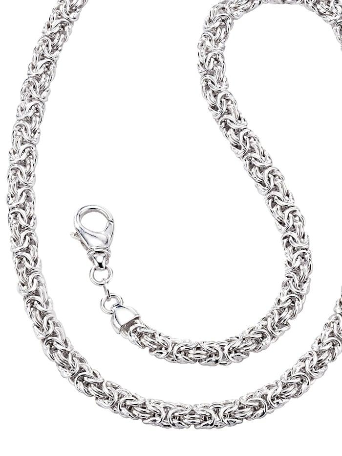 AMY VERMONT Kongearmbånd i sølv 925, Sølvfarger