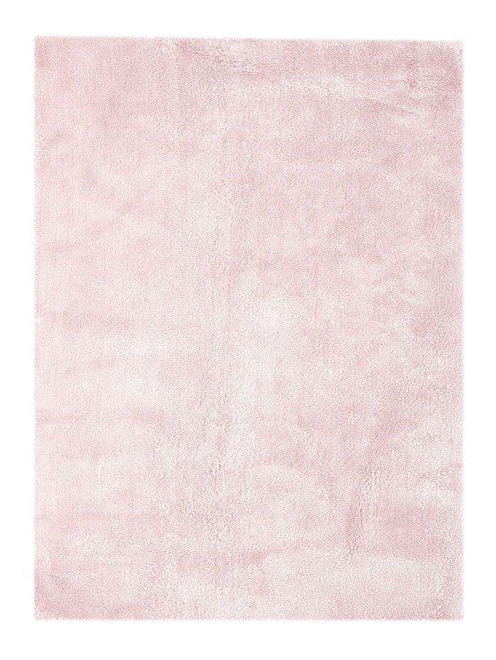 Kayoom Handwebteppich 'René', Rosé