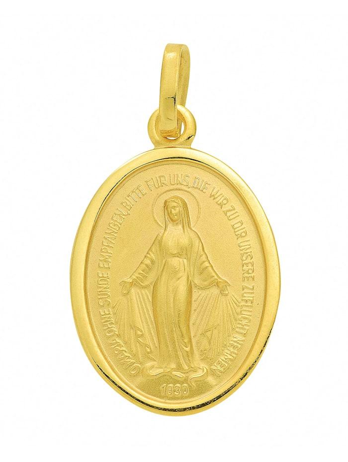 1001 Diamonds Damen Goldschmuck 585 Gold Anhänger Milagrosa, gold