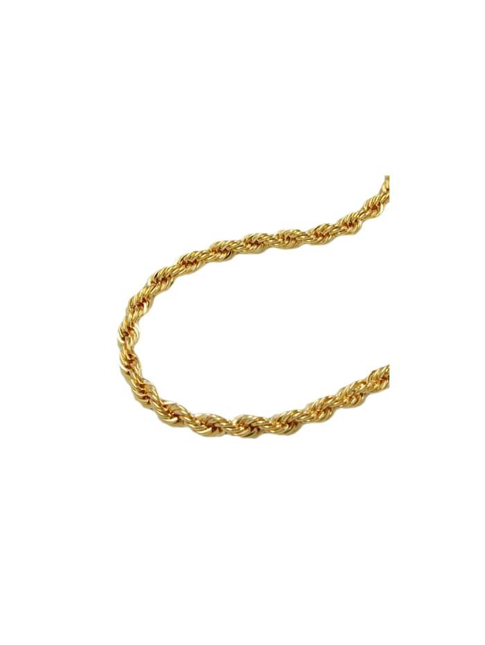 Armband 2mm Kordelkette 9Kt GOLD 19cm