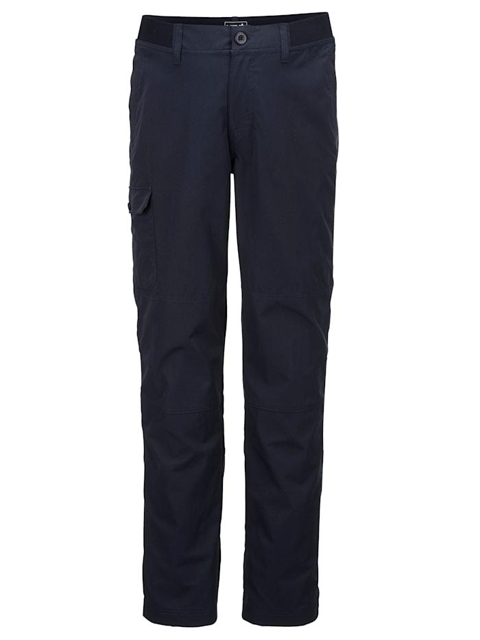 Men Plus Trekkinghose mit einer aufgesetzten Tasche am Bein, Marineblau