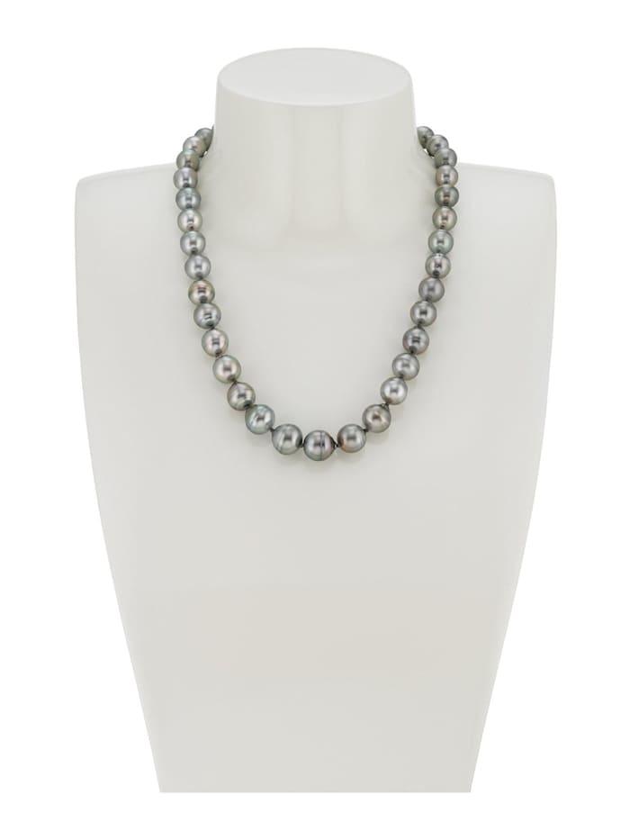 CHRIST Pearls Damen-Kette 925er Silber Tahiti