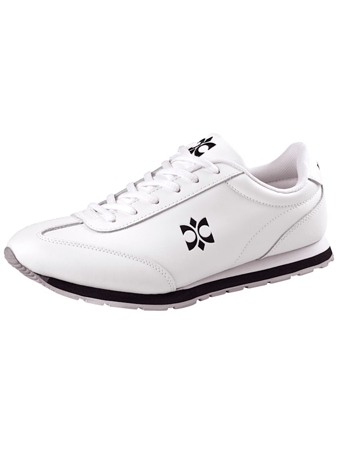 Priority Lace-up shoes in a sporty design, White