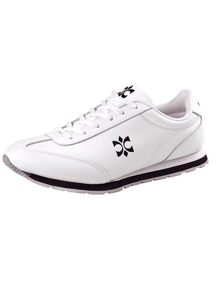 Priority Sneaker sportig look, Vit