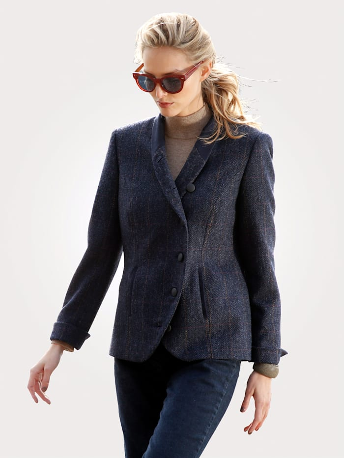 Blazer made frompure virgin wool