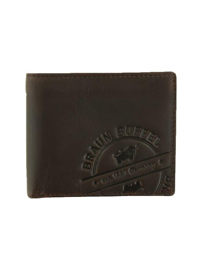 Braun Büffel Kartenbörse PARMA LP 8CS mit Pull-up-Effekt, braun