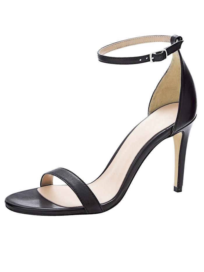 Sandale aus hochwertigem Leder
