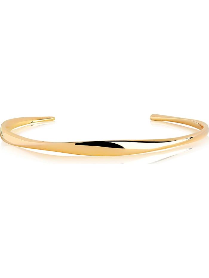 Sif Jakobs Sif Jakobs Jewellery Damen-Armreif 925er Silber Zirkonia, Gelbgold