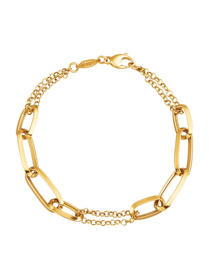 AMY VERMONT Armband in Gelbgold 585, Gelbgoldfarben