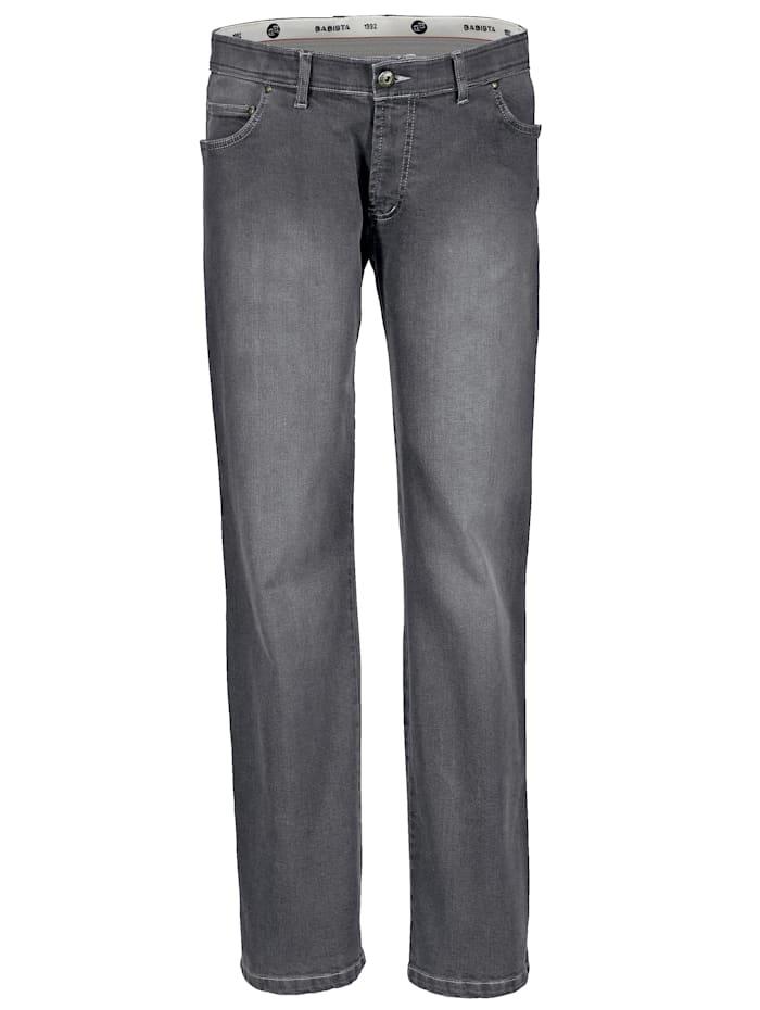 BABISTA Jeans met iets lagere band, Grijs