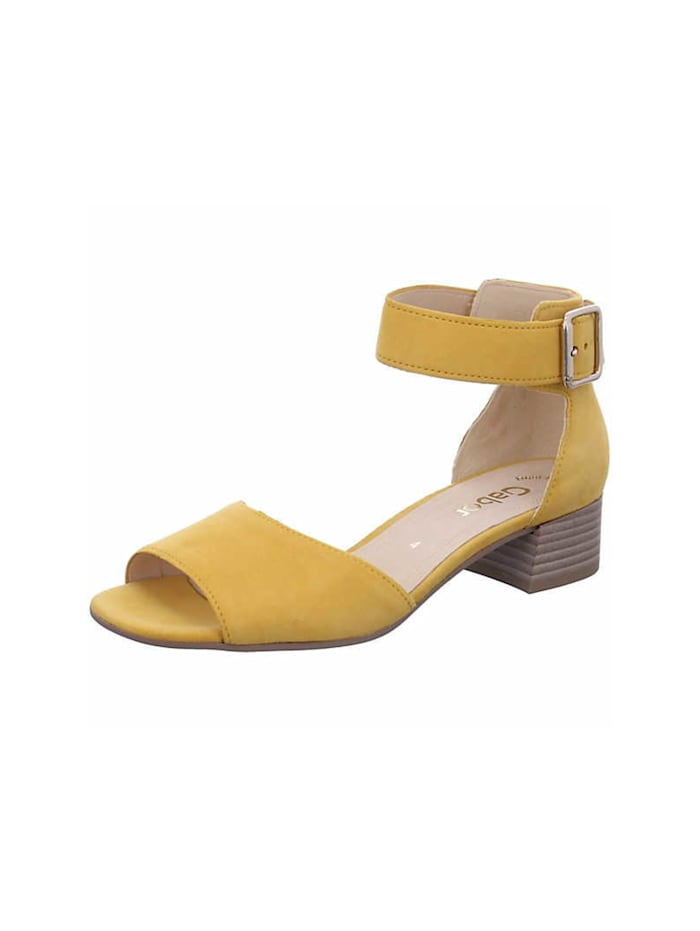 Gabor Sandalen/Sandaletten, gelb