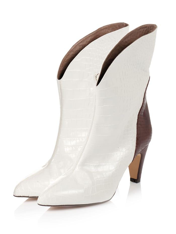 PEDRO MIRALLES Stiefel, Weiß