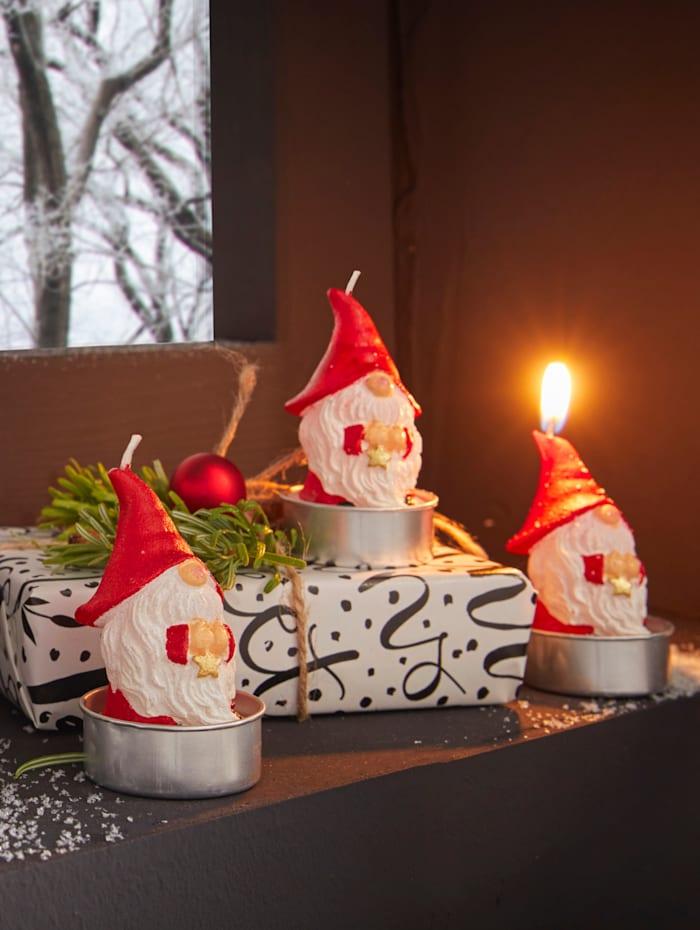 Set van 6 kaarsen Kabouter