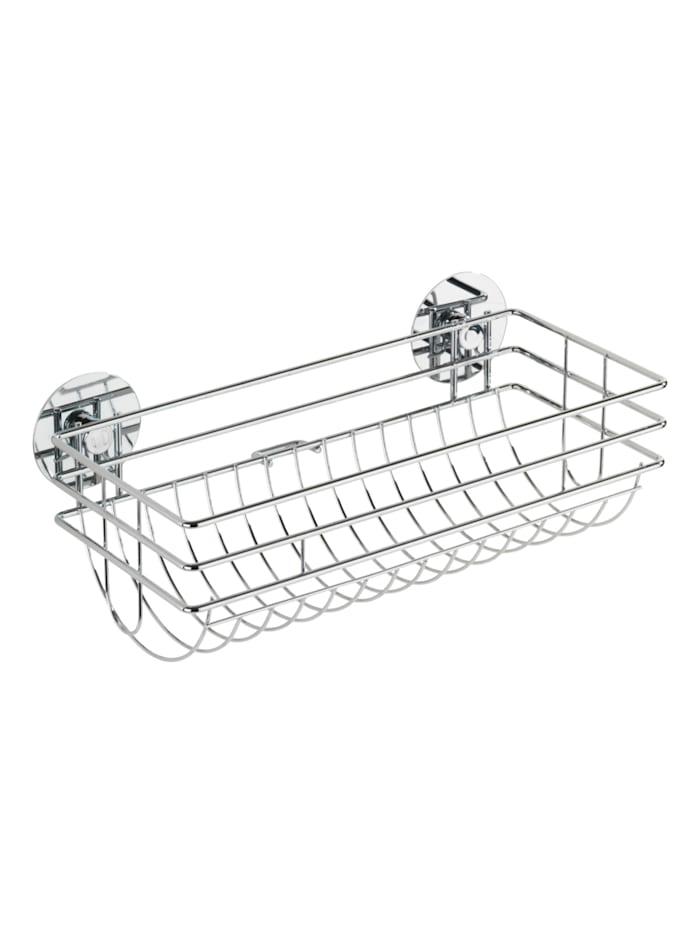 Wenko Turbo-Loc® Küchenrollenhalter, Befestigen ohne bohren, Silber glänzend