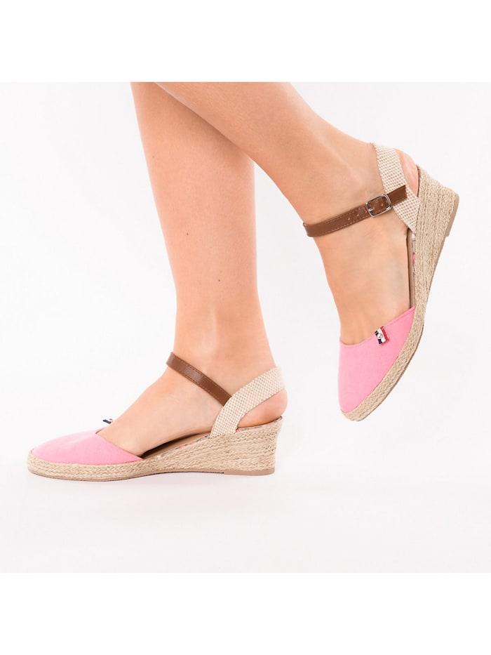 Classic Sandalette mit Keilabsatz