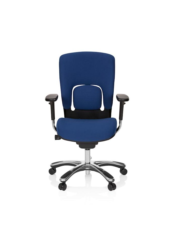 hjh OFFICE High End Bürostuhl VAPOR LUX BASE, Blau