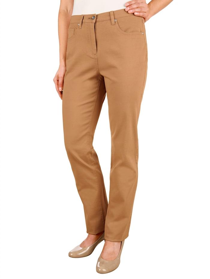 Pantalon de coupe Slim Fit avec broderie de coeur