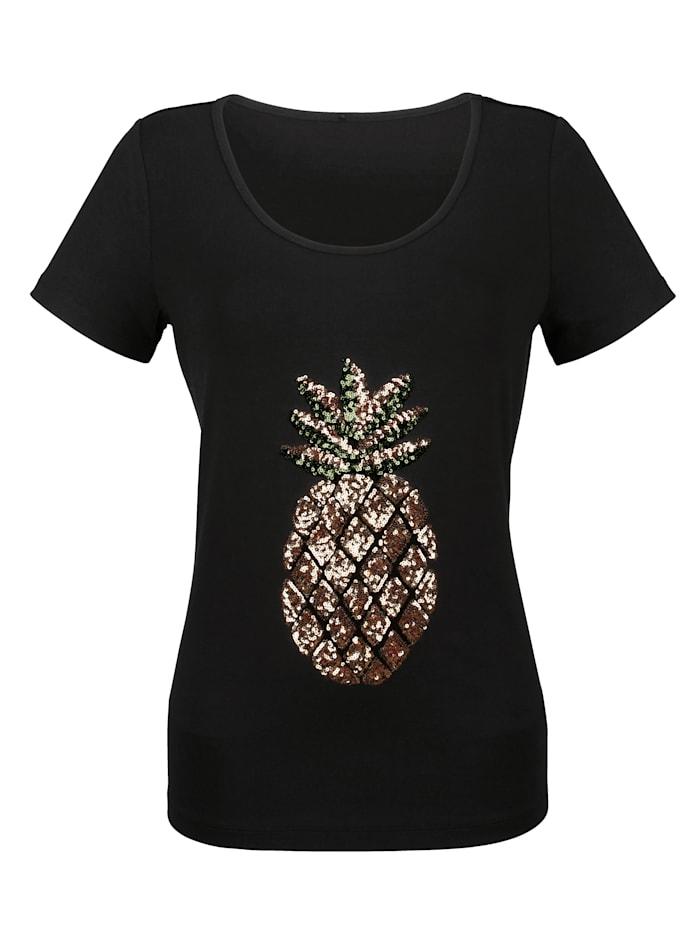 Shirt mit Ananasmuster