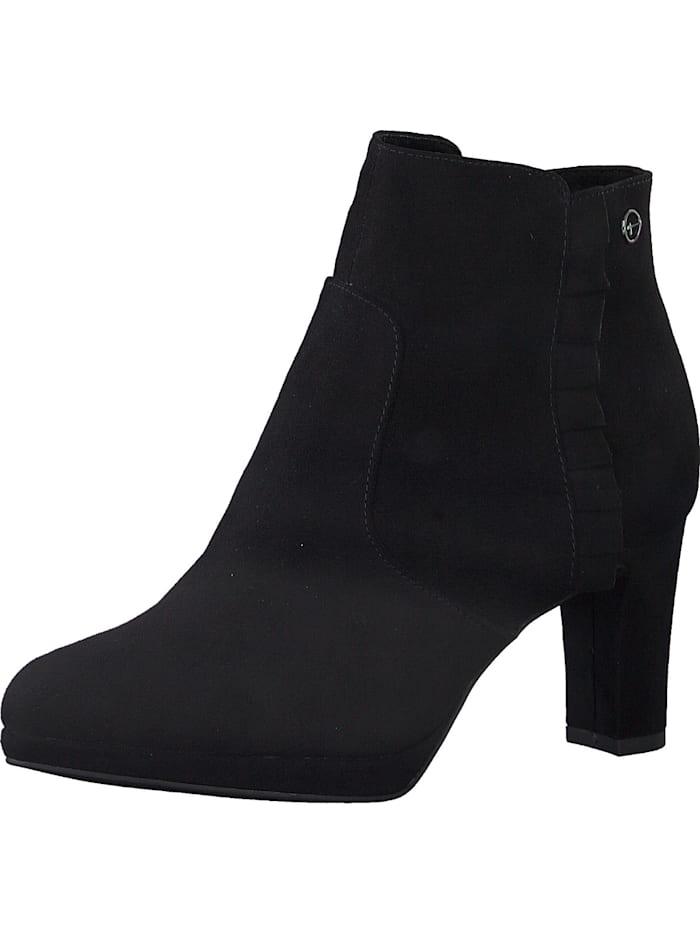Tamaris Klassische Stiefeletten, schwarz
