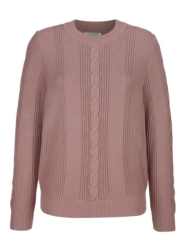 Pullover mit modischem Strukturmuster