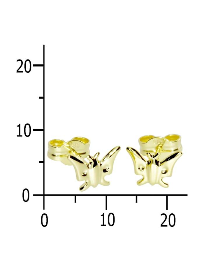 Ohrstecker - Schmetterling - Gold 333/000 - ,