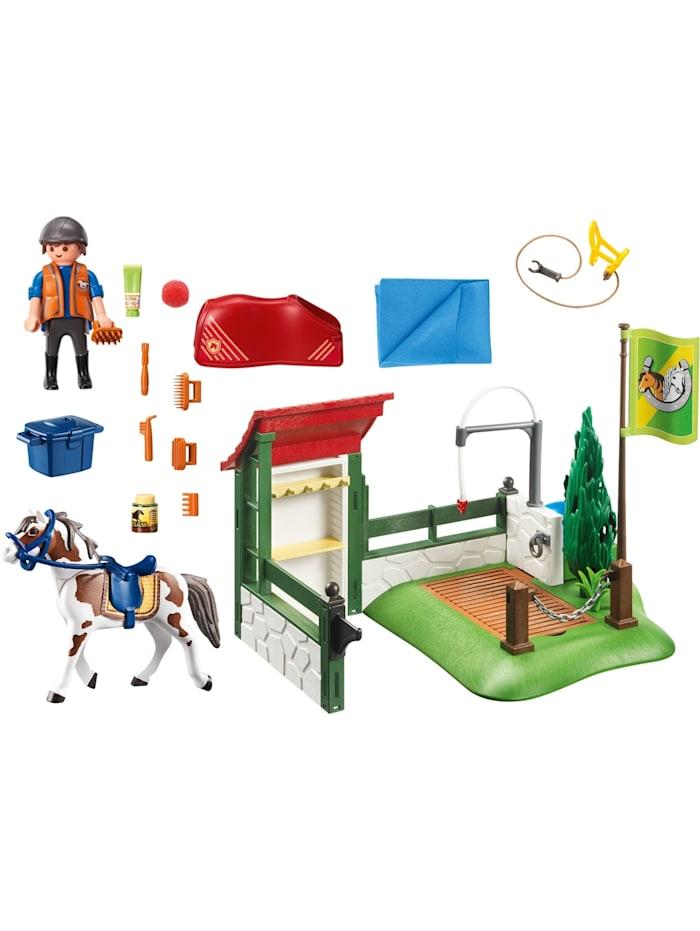 Konstruktionsspielzeug Pferdewaschplatz