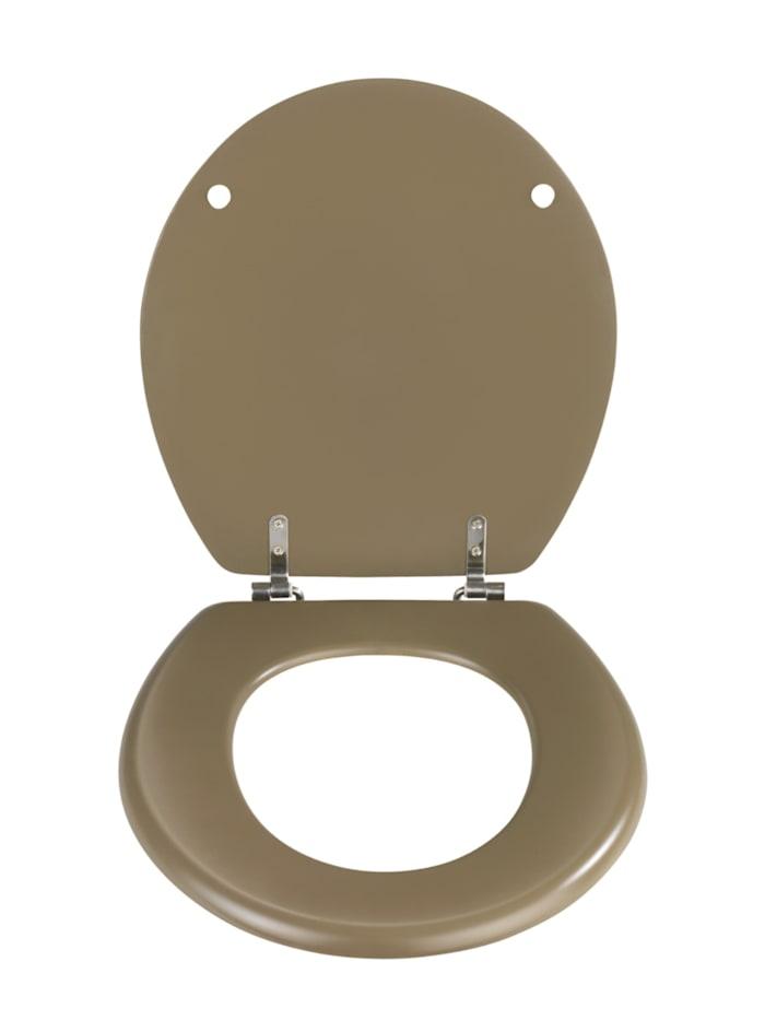 WC-Sitz Prima in Taupe Matt, MDF