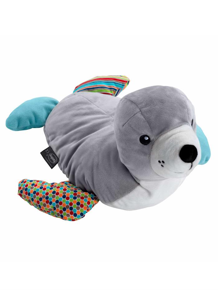 Fashy Wärmflasche Seehund Siggi, grau
