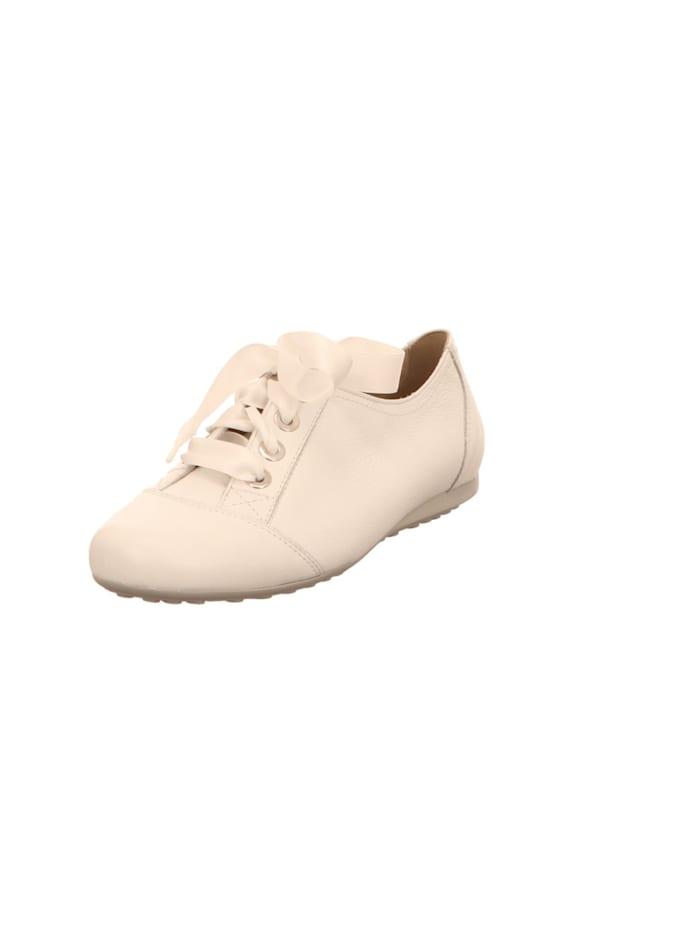 Semler Damen Schnürschuh in weiß, weiß