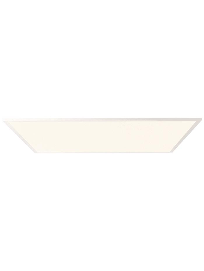 Brilliant Buffi LED Deckenaufbau-Paneel 75x75cm weiß, weiß