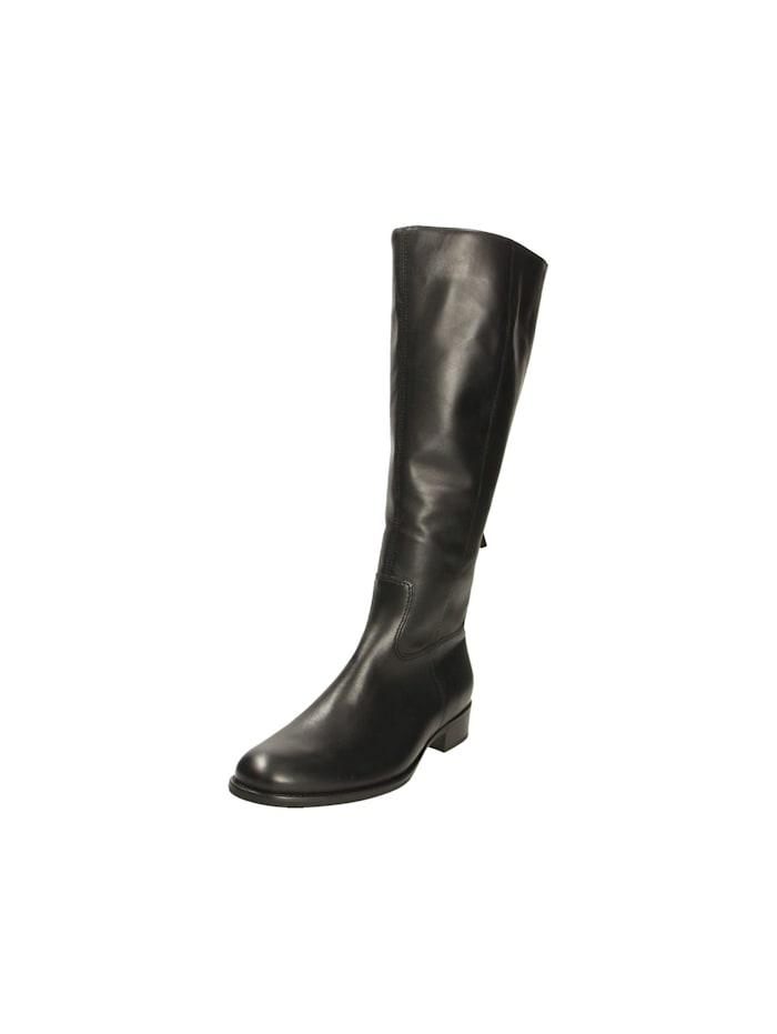 Gabor Damen Stiefel in schwarz, schwarz