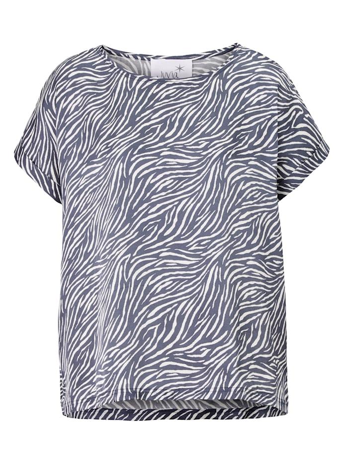 JUVIA Lounge-Shirt, Dunkelblau