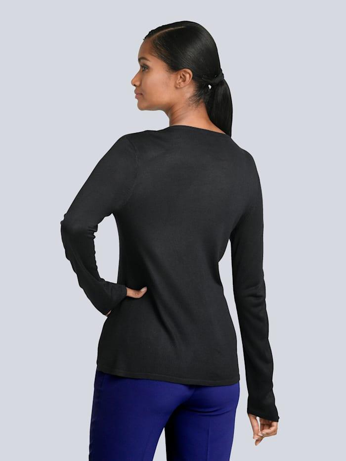 Pullover mit modischem Knotendetail