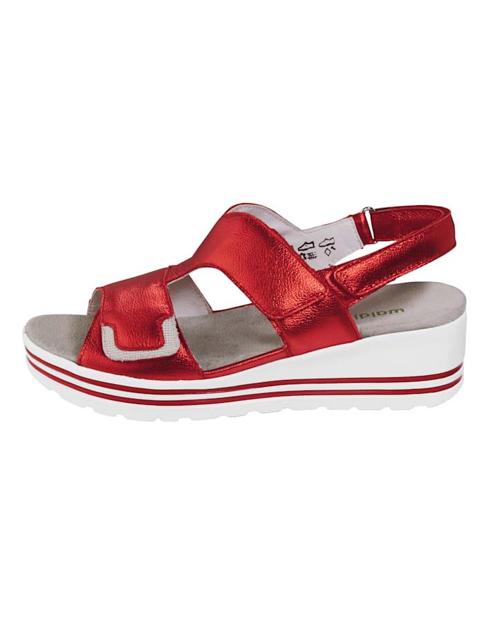 Sandale mit modischer Glitzer-Applikation