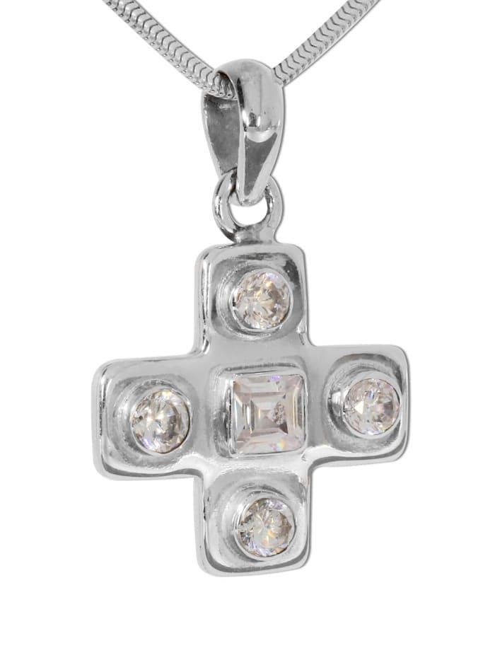1001 Diamonds Kreuz Peridot Anhänger, grün