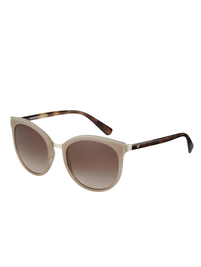 EMPORIO ARMANI Sonnenbrille, beige-braun