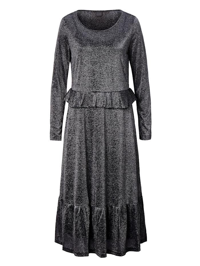Robe en jersey à fil Lurex