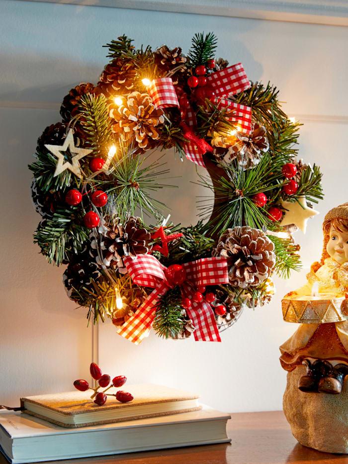 LED Weihnachtskranz
