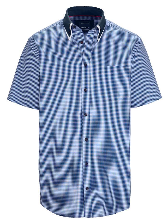 BABISTA Overhemd met dubbele kraag, Blauw
