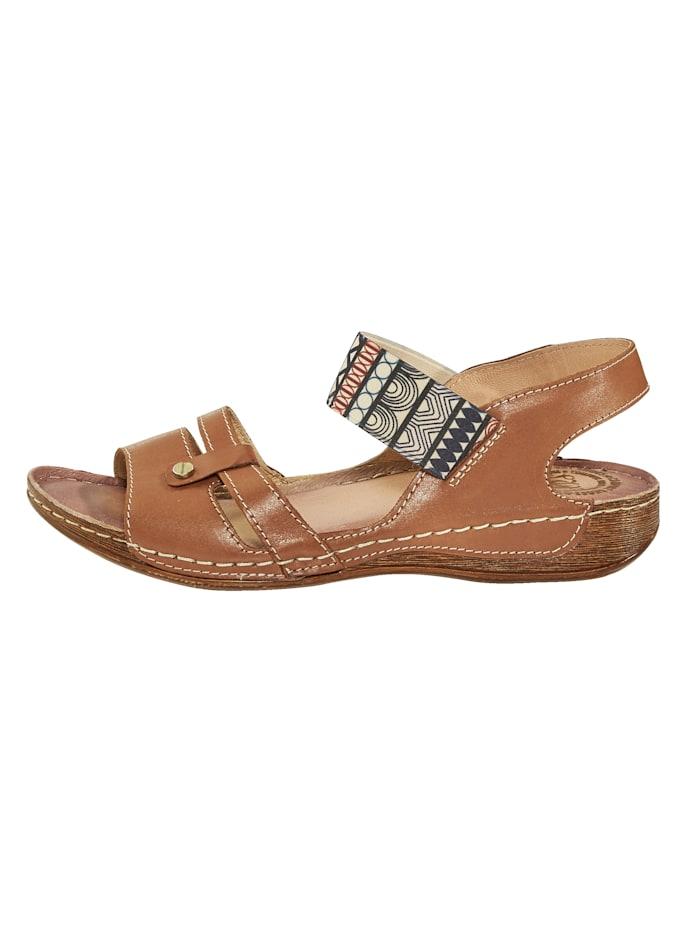 Sandaaltje met elastisch bandje