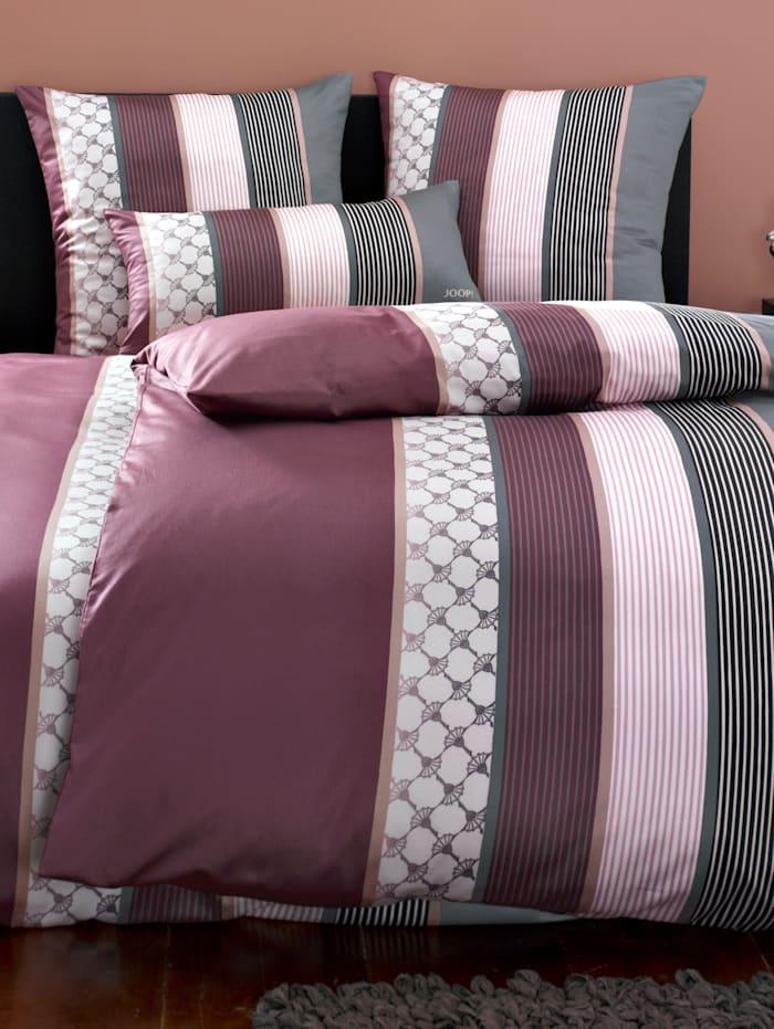 Parure de lit satin de coton d'Égypte'Cornflower Stripes'